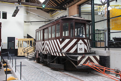 Brussels Tram Museum 95 Voluwe Depot Apr 13