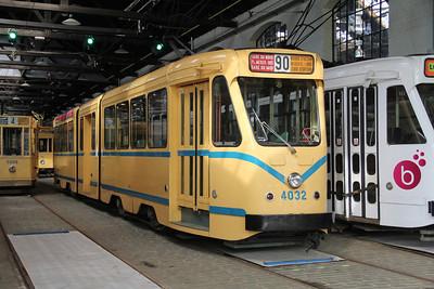 Brussels Tram Museum 4032 Voluwe Depot Apr 13