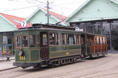 Brussels Tram Museum 984_301 Voluwe Depot Apr 13