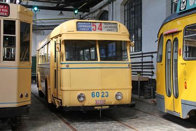 Brussels Tram Museum 6023 Voluwe Depot 1 Apr 13