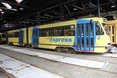 Brussels Tram Museum 7500 Voluwe Depot 1 Apr 13