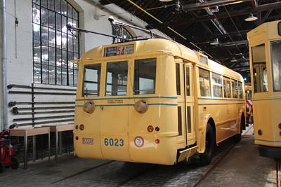 Brussels Tram Museum 6023 Voluwe Depot 2 Apr 13
