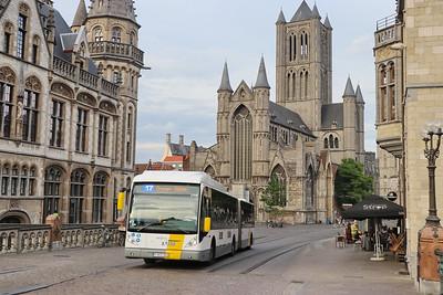 De Lijn 2198 Sint Michielshelling Gent 4 Jun 17