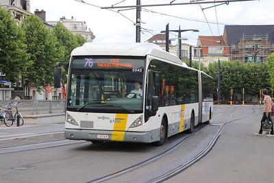De Lijn 5045 Sint Pieters Station Gent Jun 17