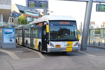 De Lijn 5221 St Pieters Station Gent Jun 17