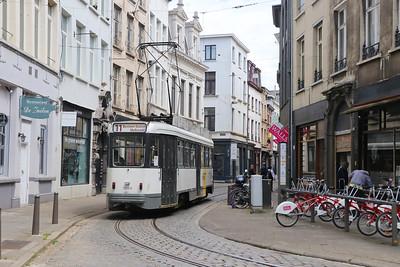 Belgium 2017 June : Buses, Trams and Trains.