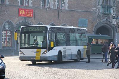 De Lijn 4256 Markt Brugge Feb 18