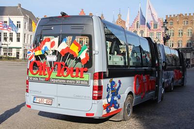 Brugge City Tour 1LEC820 Markt Brugge 4 Feb 18