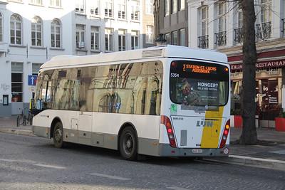 De Lijn 5354 Vlamingstraat Brugge 2 Feb 18
