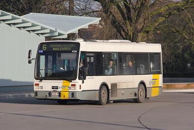 De Lijn 4136 Brugge Railway Station 1 Feb 18
