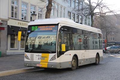 De Lijn 5354 Vlamingstraat Brugge 1 Feb 18