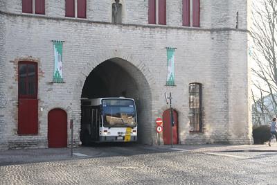 De Lijn 4136 Kruisepoort Brugge 2 Feb 18