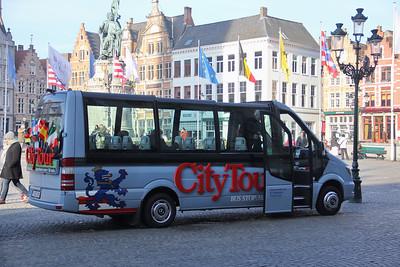 Brugge City Tour 1LEC814 Markt Brugge 2 Feb 18