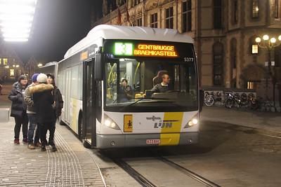 De Lijn 5377 Sint Michielshelling Gent Feb 18