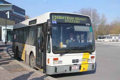 De Lijn 4136 Brugge Railway Station 2 Feb 1