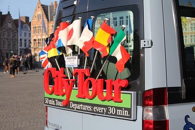 Brugge City Tour 1LEC820 Markt Brugge 3 Feb 18
