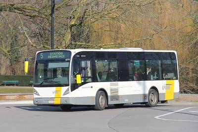 De Lijn 4275 Brugge Railway Station Feb 18