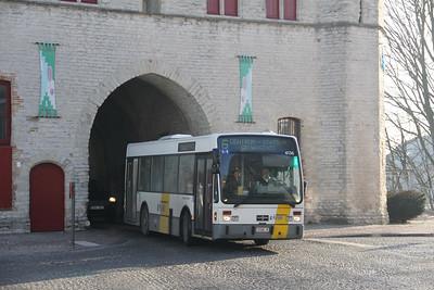 De Lijn 4136 Kruisepoort Brugge 5 Feb 18