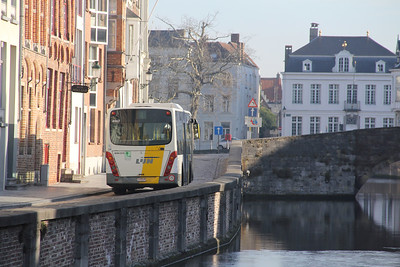De Lijn 4967 Spiegelrei Brugge 2 Feb 18