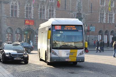 De Lijn 5354 Markt Brugge Feb 18