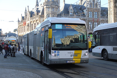 De Lijn 2198 Sint Michielshelling Gent Feb 18