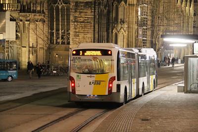 De Lijn 5368 Sint Michielshelling Gent Feb 18