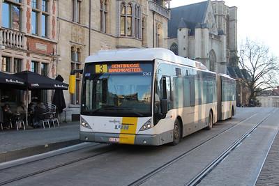 De Lijn 5363 Sint Michielshelling Gent 1 Feb 18