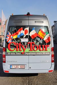 Brugge City Tour 1LEC820 Markt Brugge 5 Feb 18
