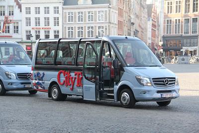 Brugge City Tour 1LEC814 Markt Brugge 1 Feb 18