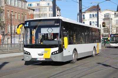 De Lijn 2049 Koningin Maria Hendrikaplein Gent Feb 18