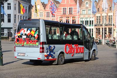 Brugge City Tour 1LEC820 Markt Brugge 2 Feb 18