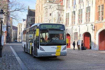 De Lijn 4967 Jan van Eyckplein Brugge Feb 18