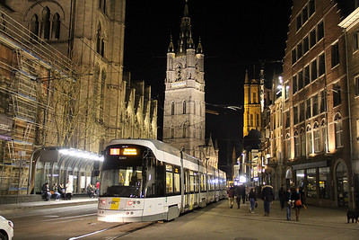Belgium 2018 February : Buses, Trams and Trains.