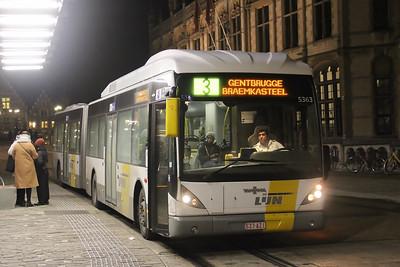 De Lijn 5363 Sint Michielshelling Gent Feb 18
