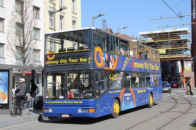 Antwerp Citytour Bus CCH041 Astridplein Antwerp Apr 13