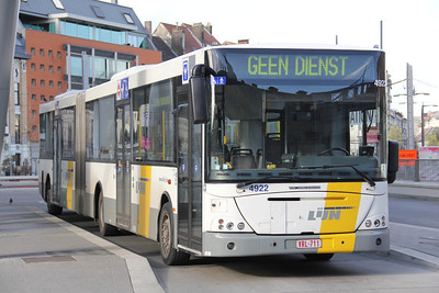 De Lijn 4992 Sint Pieters Station Gent Apr 13