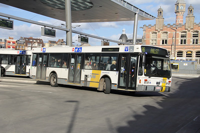 De Lijn 4234 Sint Pieters Station Gent Apr 13