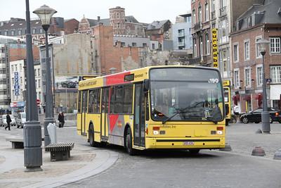 Belgium 2013 April : Buses, Trams and Trains.