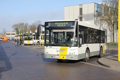 De Lijn 4481 Kortrijk Station Apr 13