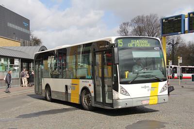 De Lijn 4273 Stationsplein Bruges Apr 13