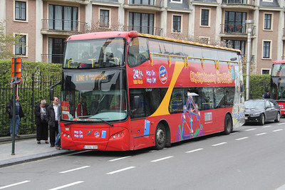 City Sightseeing Brussels 1CIL237 Keizerinlaaan Brussels Apr 13