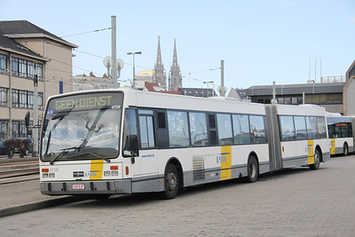 De Lijn 4158 Ostende Bus Stn Apr 13
