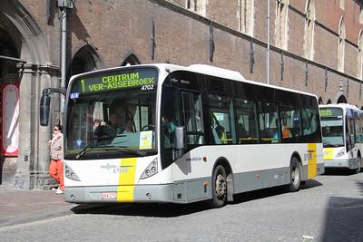 De Lijn 4702 Wollestraat Bruges 1 Apr 13