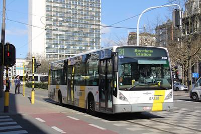 De Lijn 4383 Gemeentestraat Antwerp Apr 13