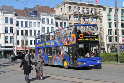 Antwerp Citytour Bus 1ARB891 Astridplein Antwerp 2 Apr 13