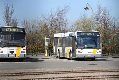 De Lijn 3218 De Panne Bus Depot Apr 13