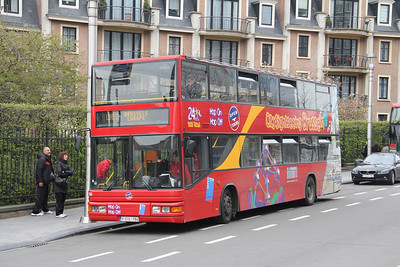 City Sightseeing Brussels 1CIL194 Keizerinlaaan Brussels Apr 13