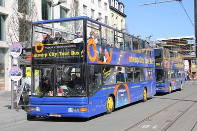 Antwerp Citytour Bus 1ARB891 Astridplein Antwerp 1 Apr 13