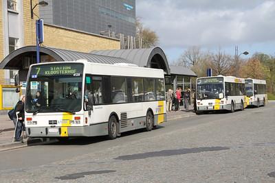 De Lijn 4128_4127_3984 Stationsplein Bruges Apr 13