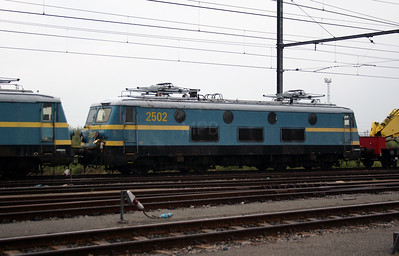 2502 at Antwerp Nord Depot on 20th August 2006